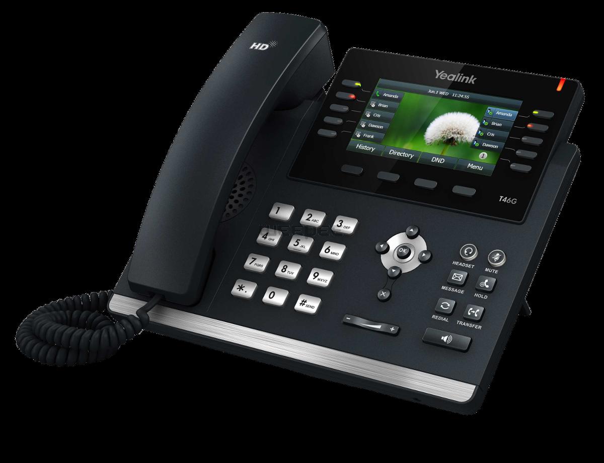 De perfecte zakelijke telefoon uw eigen logo in het scherm!